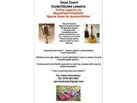 Singing, Guitar and Ukulele Lessons - Autumn Block Booking Deals