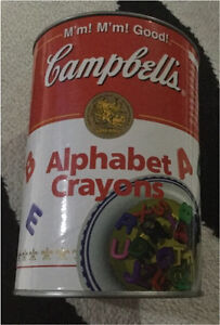 Alphabet Crayons! Kitchener / Waterloo Kitchener Area image 1