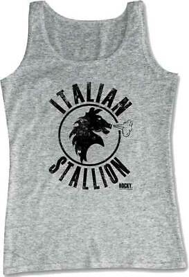 Rocky Boxing Movie Italian Stallion Licensed Men's Tank Top Shirt  ()