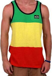 Bob-Marley-Rasta-Stripe-Licensed-Tank-Adult-Lightweight-Shirt-S-2XL