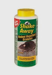 New Shake Away Rodent Repellent Granules Rat Mice