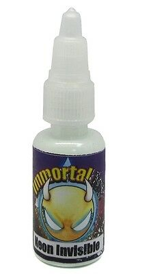 IMMORTAL NEON INVISIBLE UV Black Light 4 Sizes Available Tattoo Ink Supply   - Blacklight Supplies