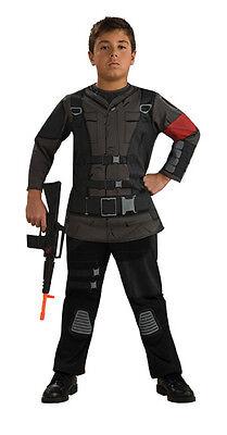 Boys JOHN CONNOR Costume Terminator Salvation Jacket + Pants Child Small 4 5 6