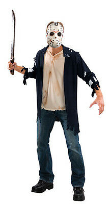 LICENSED FRIDAY THE 13TH JASON VOORHEES ADULT HALLOWEEN COSTUME SIZE - Jason X Halloween Costume
