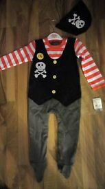 Baby Pirate Outfit Size 12-18 Months (Dressing Up/Party Outfit)