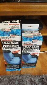 heavy duty rear seat covers new
