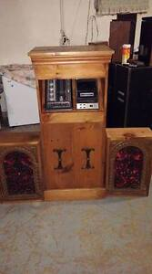 One of a kind console stereo