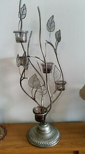 Beautiful metal candle holder