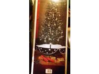 christmas snow tree
