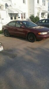 2001 Buick Other red Sedan