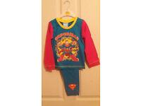 SUPERMAN BOYS TODDLER PJS