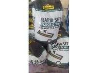 Rapid Wall and Floor tile Adhesive. Tops Tiles selling it for £14
