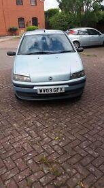 Fiat Punto Active, for sale for parts, £300