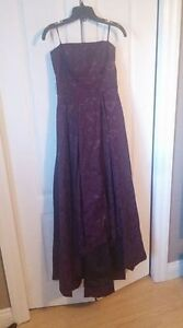 Le Chateau Hi-Low Strapless Dress  - Great for Prom!