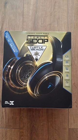 Turtle Beach Ear Force Stealth 500P wireless headset for Ps3, Ps4 & PC like new. Used twice.