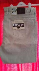 "Express Jeans Beige 54"""