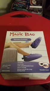 Magic Bag Heatable Slippers