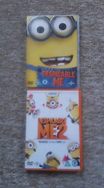 Despicable Me 1 & 2 on DVDs