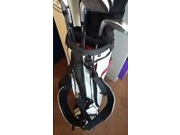 Men's set of golf clubs Titleist, Taylormade, King Cobra, Callaway