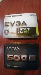 EVGA GTX 960 and other parts