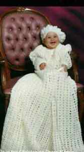 Christening  Gown 3pc