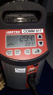 Ametek Jofra Mtc-650 A Calibration Instruments Mtc650a Temperature Calibrator