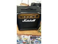 Marshall Amplifier Guitar 🎸 Bass Working Amp Only Will Drop of For Fuel! 40Watts