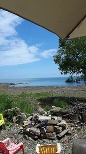 LAKEFRONT HOME/COTTAGE ON LEASED LOT-9851 LAKE RD-KETTLE POINT