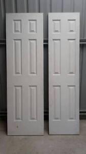 9 x DOORS  -  WHITE CORINTHIAN WOODEN DOORS Wangaratta Wangaratta Area Preview