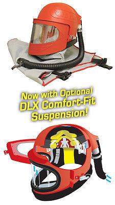 Clemco Apollo 600 Blast Helmet  Respirator Deluxe Suspension Cape Sandblasting