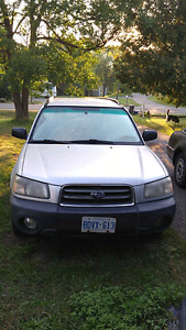 2003 Subaru Forester SUV AWD - AS IS - For Parts or Fix Up