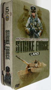 Strike Force  Land collector tin