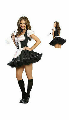 4038 ROMA  Maid to Order Fancy Dress Sz S/M (Maid To Order Costume)