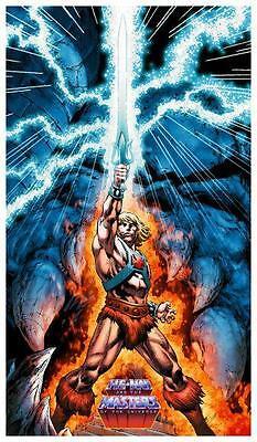 He-Man *POSTER* Master of the Universe *AMAZING IMAGE* MOTU He Man MOTU