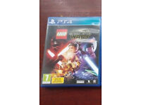 PS4 Lego Star Wars in mint condition like new