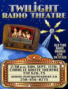 Twilight Radio Theatre at The Charlie White Theatre