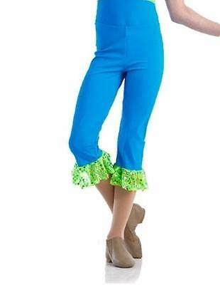 Capri Pant ONLY Dance Costume Jazz Tap Mix N Match FOREVER Child S - Adult L - Adult Jazz Pant