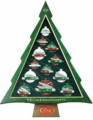 CASE CHRISTMAS TREE 12 DAYS OF CHRISTMAS COMMEMORATIVE 12-KNIFE SET 1/250 #21225