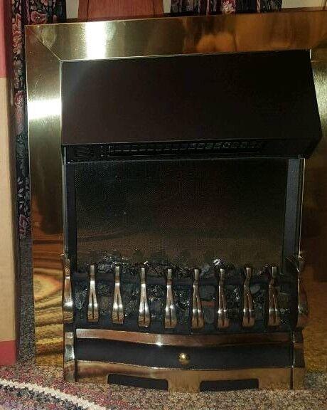 Dimplex Wynford WYN20BR Optimflame Inset Fire Brass
