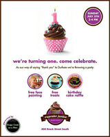 Cupcake Junkie's Celebrating Turning 1!