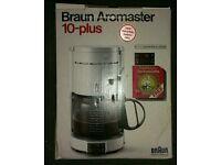 Braun Coffee Maker Aromaster