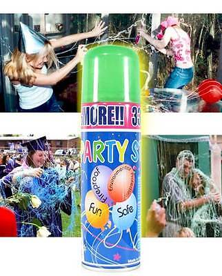 (silly party string crazy prank  spray (24 large cans) streamer fun for parties)