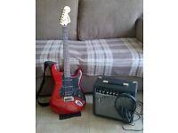 Squier Fender Guitar starter kit