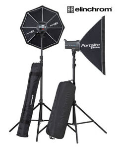 Portable Portrait and Commercial Lighting Kit