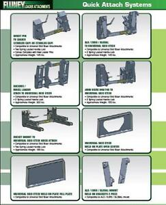 HEAVY DUTY LOADER ATTACHMENTS & QUICK ATTACH SYSTEMS