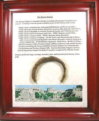 100AD Ancient Roman Judaea Israel Palestine Phoenice Lebanon Bronze Bracelet