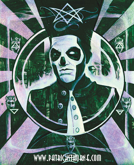 Ghost, Ghost BC Papa print Signed and numbered! Please Read Description !!!