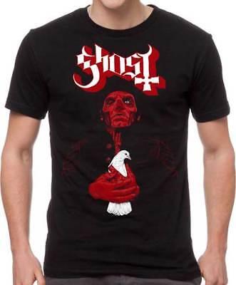Ghost BC Dove Satanic Death Swedish Heavy Metal Rock Music Band T Shirt GOS10113 (Ghost Death)