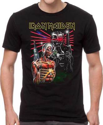 Iron Maiden Terminate Somewhere in Time Heavy Metal Music Band T Shirt