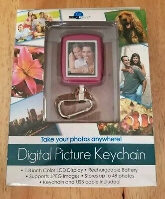 Digital Decor Digital Picture Keychain 1.8 inch Color LCD Display JPEG